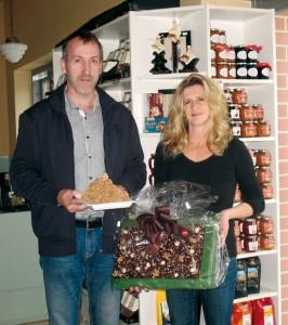 Herr und Frau Köller von der Köller Biomanufaktur