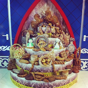 Russisches Brot Grüne Woche