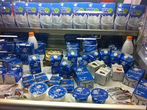 Russische Milch Grüne Woche